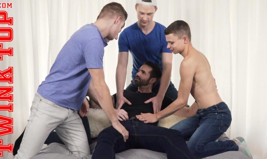 TwinkTop – TWINK TAG TEAM – Austin L Young, Dani Robles, Blake Ellis, Tom Bentley, Cole Blue