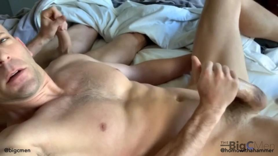 TheBigCMen - He's Back: Homowithahammer Returns Day 1: Taking Big C's Morning Load TheBigCMen
