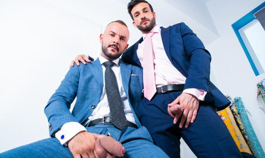 MenAtPlay – The Tailor and Sir Peter – Javi Gray, Sir Peter