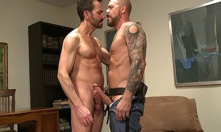DaddySexFiles – Riding The Biggest Cop Cock – Rocco Steele, Bryan Slater