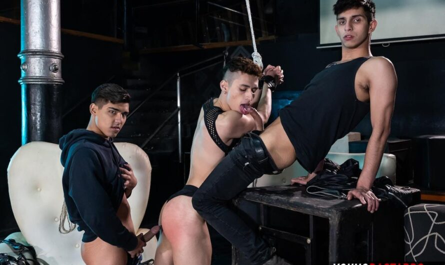 YoungBastards – Rough Boys Share Raw Twink Hole – Felix Harris, Fabrice Rossi, Sonny Davon