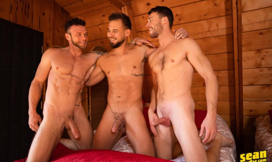 SeanCody – The Cabin Episode 1 – Sean, Josh & Justin – Bareback
