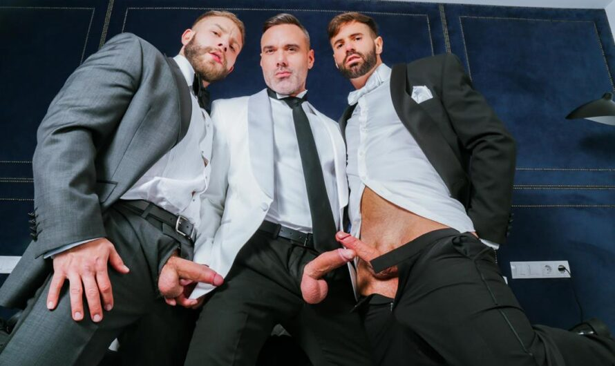 MenAtPlay – Threeway Celebration – Diego Reyes, Dani Robles, Manuel Skye