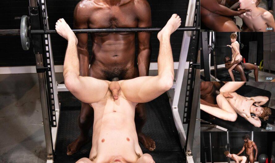 MEN.com – Plexigl-ASS Gym – Devin Trez, Tannor Reed
