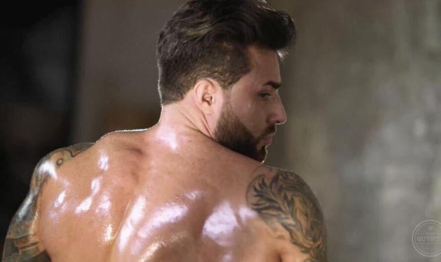 TheGuySite – Naked Russian Bodybuilder Maxim 2