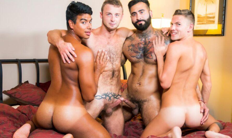 Masqulin – Boy's Trip Part 3 – Jay Seabrook, Chad Taylor, Rikk York, Johnny Hunter