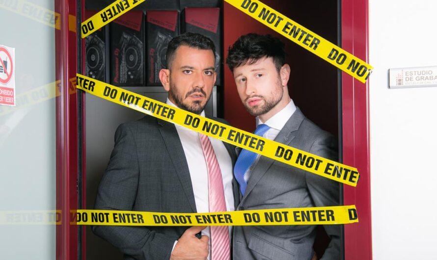 MenAtPlay – Crime Scene Investigation – Joe Gillis, Drew Dixon
