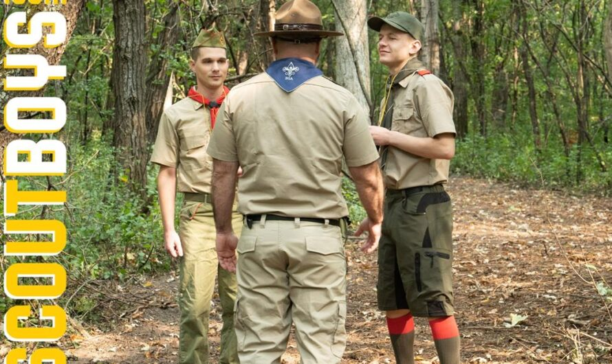 ScoutBoys – SETTING UP CAMP – Mark Winters, Ian Levine, Bishop Angus