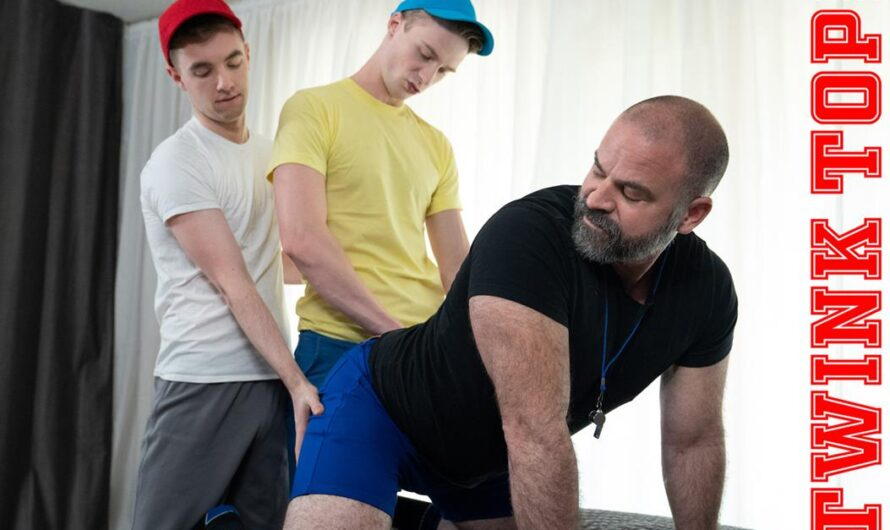 TwinkTop – TOP TRAINING – TAG TEAM – Bishop Angus, Cole Blue, Lucas Ryder