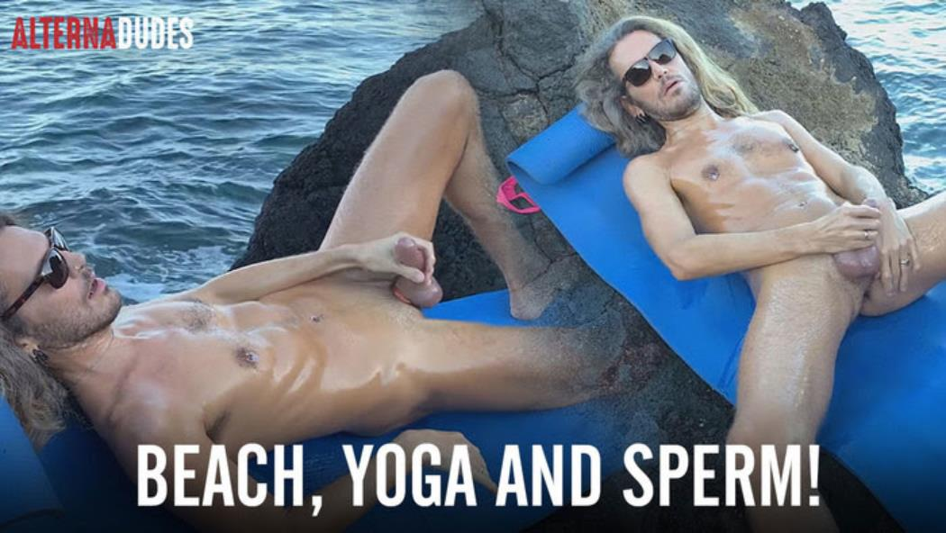 AlternaDudes - Beach, Yoga and Sperm! AlternaDudes