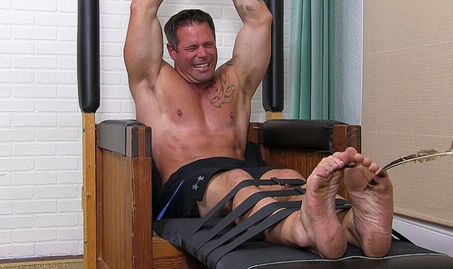 MyFriendsFeet – Joey Bound Helpless & Tickled