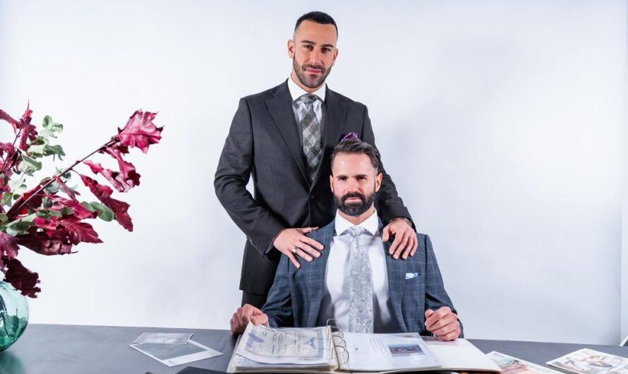 MenAtPlay – Servicing The Boss – Dani Robles, Gustavo Cruz